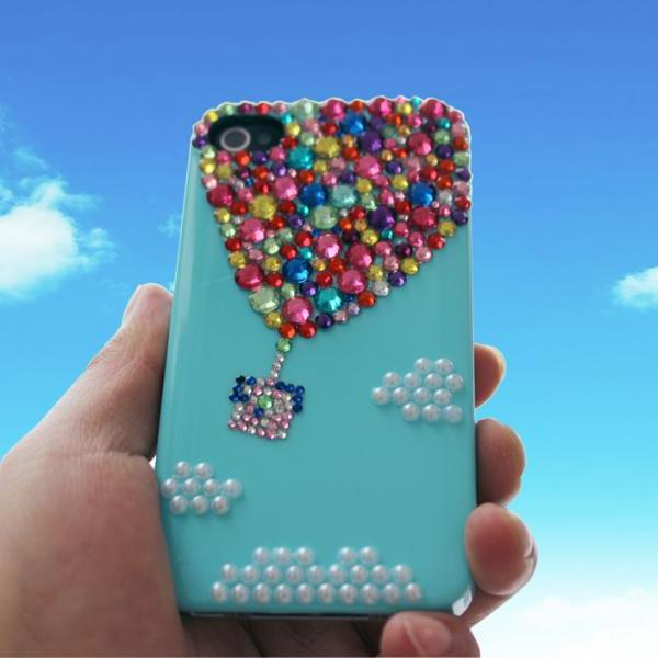 House on Balloons Up iPhone 4 4s 5 Case ,iphone 6 plus case, Samsung S3,S4,S5,Note 2/3 case,Bling up balloon case